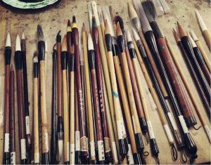 pinceles para pintura
