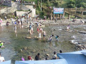 Clean water in Chengdu countryside