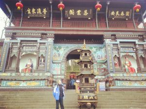 Taoist Temple in Mount QingCheng