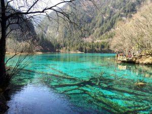Water in Jiu Zhai Gou