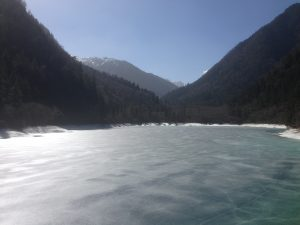 JiuZhaiGou icy lake