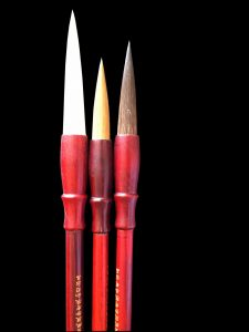Red Star brushes set