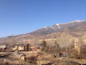 Tibetan silver village
