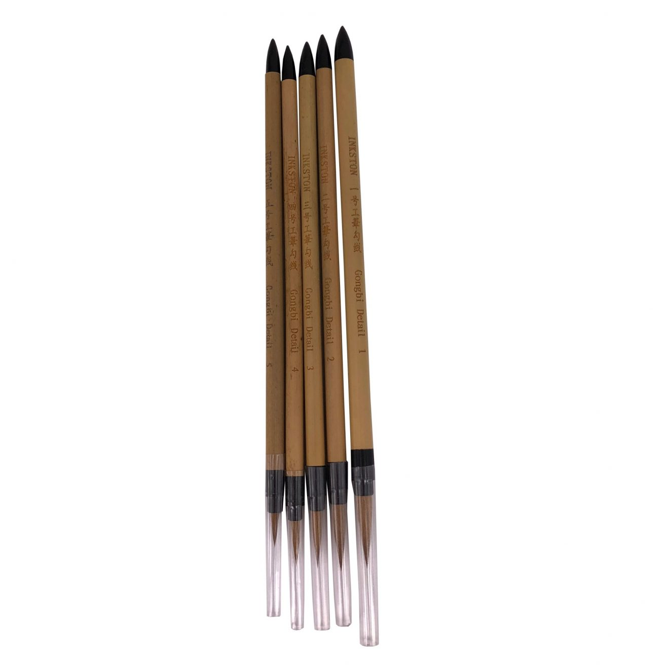 inkston gongbi detail brush set 1