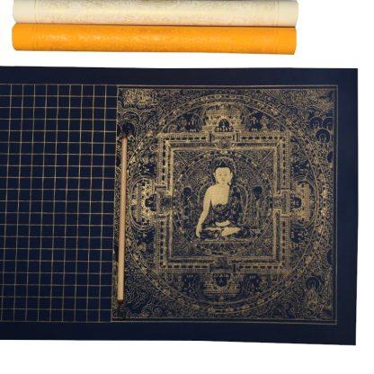 inkston diamond sutra calligraphy paper