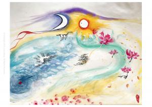Ru Xi of Silk Scroll Arts
