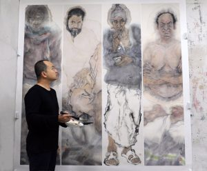 廖勤 Liao Qin, 中央美术学院中国画学院教师  Professor at China Central Academy of Fine Arts, School of Traditional Chinese Painting