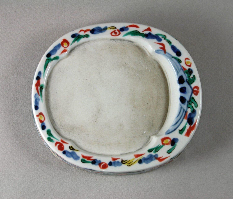 Porcelain Inkstone.
